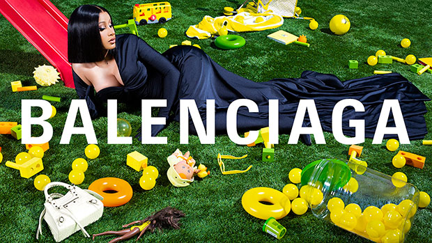 Cardi B Will Be the New Face of Balenciaga- Seen Posing for Its Winter Collection