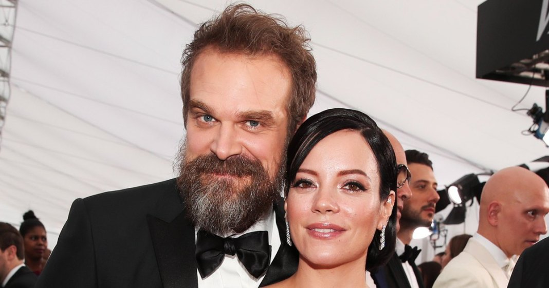 Wedding bells for Lily Allen and David Harbour in Vegas