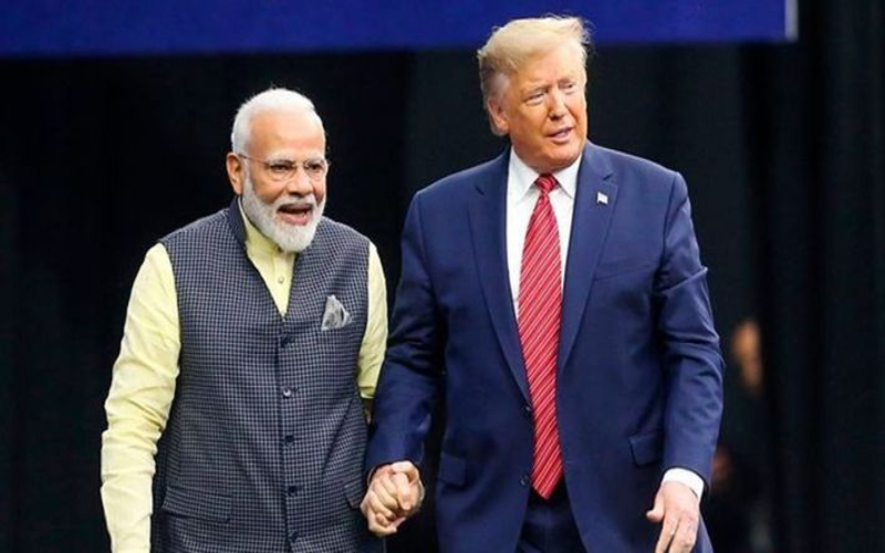 """PM Modi Great friend of Mine, Indian-Americans Would Vote for Me"": Trump"