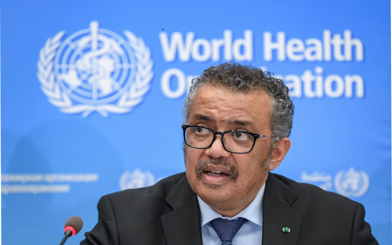 WHO Chief says world must be better prepared for next pandemic