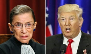 Supreme Court Judge Ruth Bader Ginsburg Death Might be Terrible Opportunity for Donald Trump