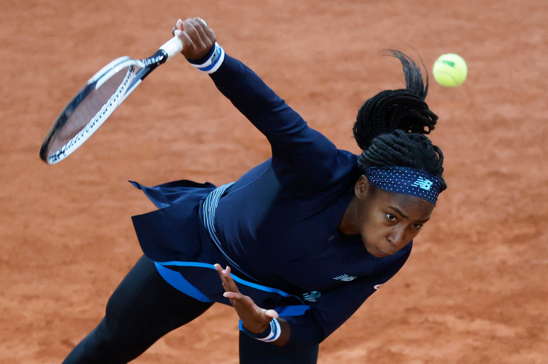 Johanna Konta knocked out of French Open by Coco Gauff