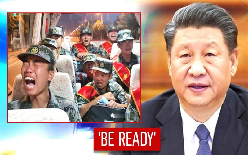Be ready for action if needed, China's Xi tells troops
