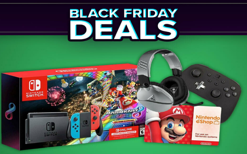 Nintendo's Black Friday sale includes 'Mario Kart' when you buy a Switch