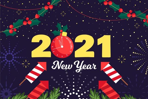 New year 2021 bring you Prosperity