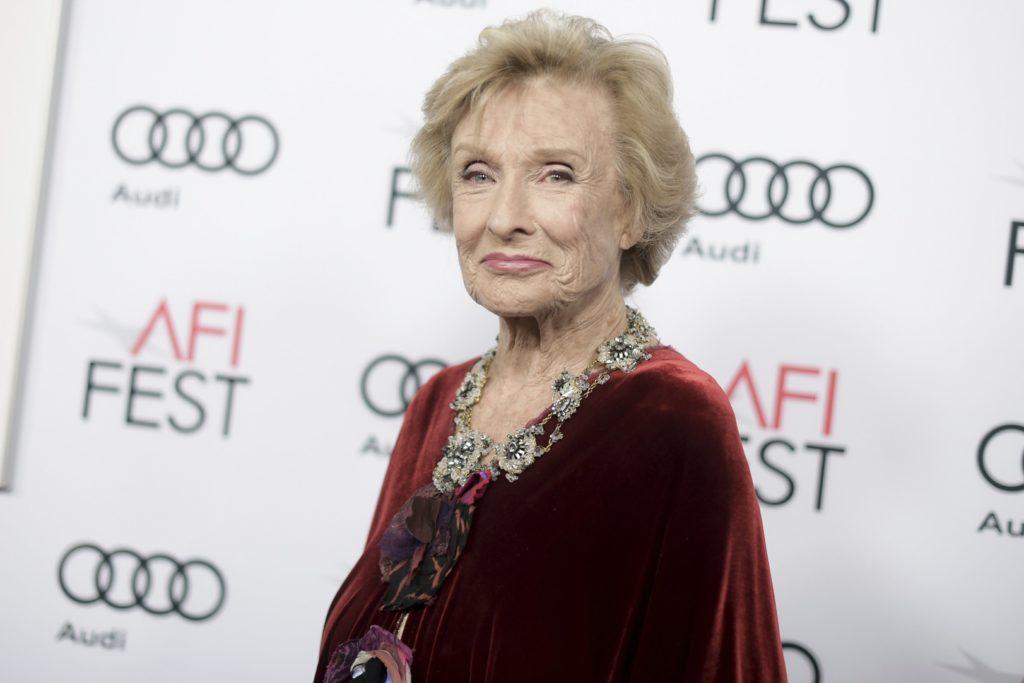 Actor Cloris Leachman