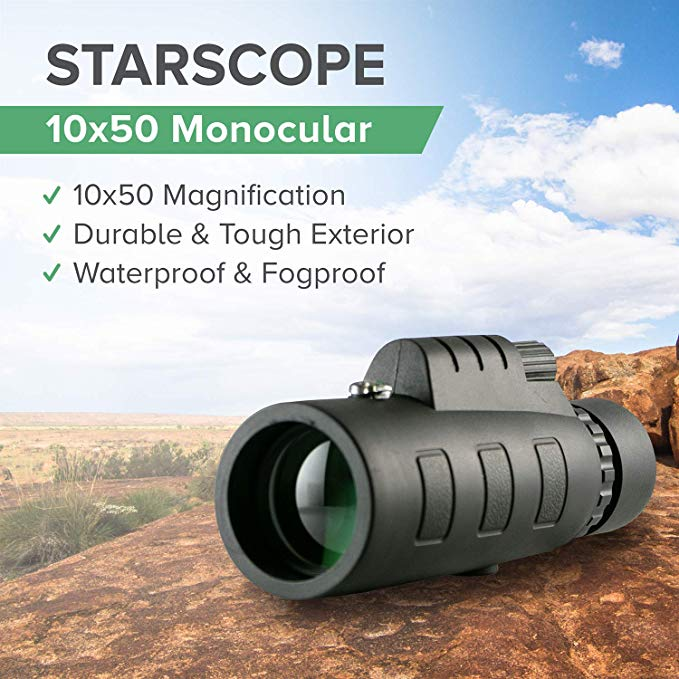 Specifications of the starscope monocular