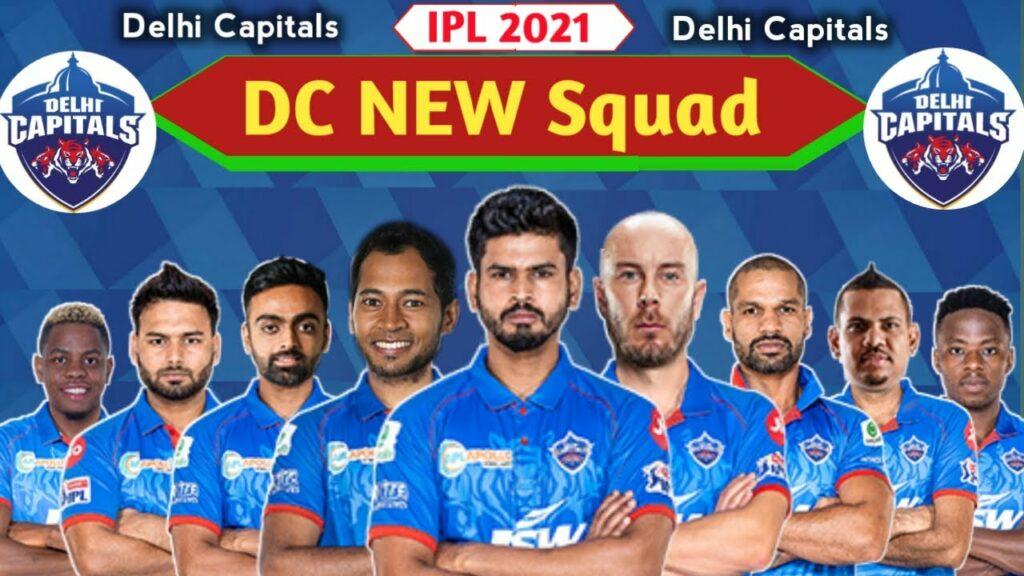 Delhi Capitals 2021 squad