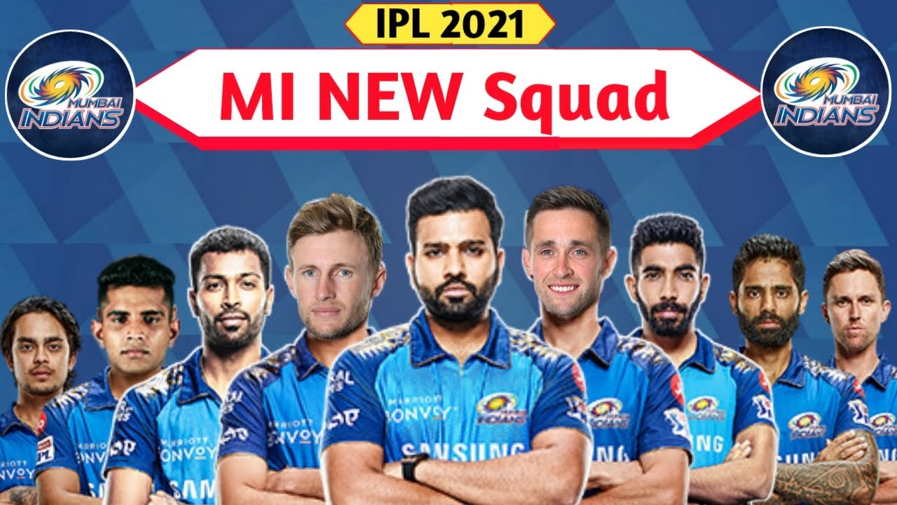 MI Squad 2021 Details