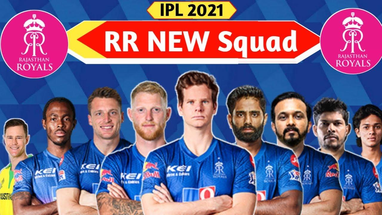 Rajasthan Royals Squad 2021 Details