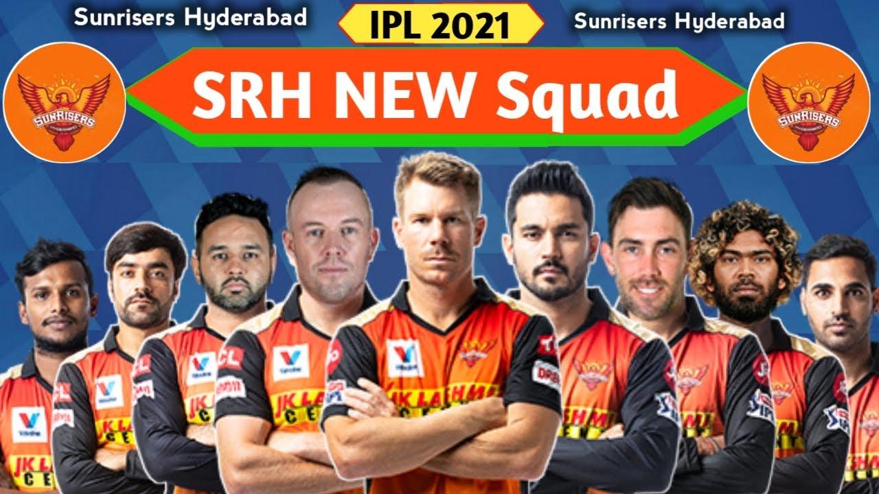 Sunrisers Hyderabad 2021 Squad Details
