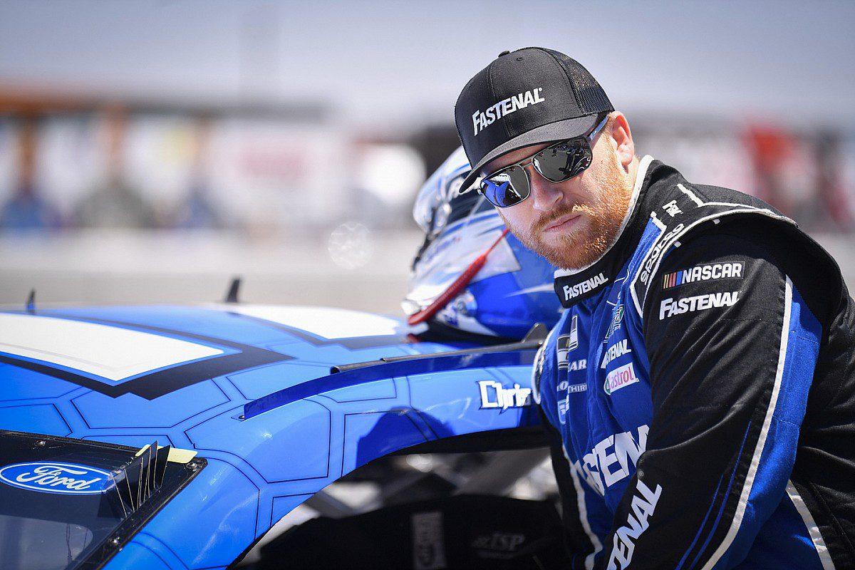 After Daytona near-win, NASCAR disqualifies Chris Buescher