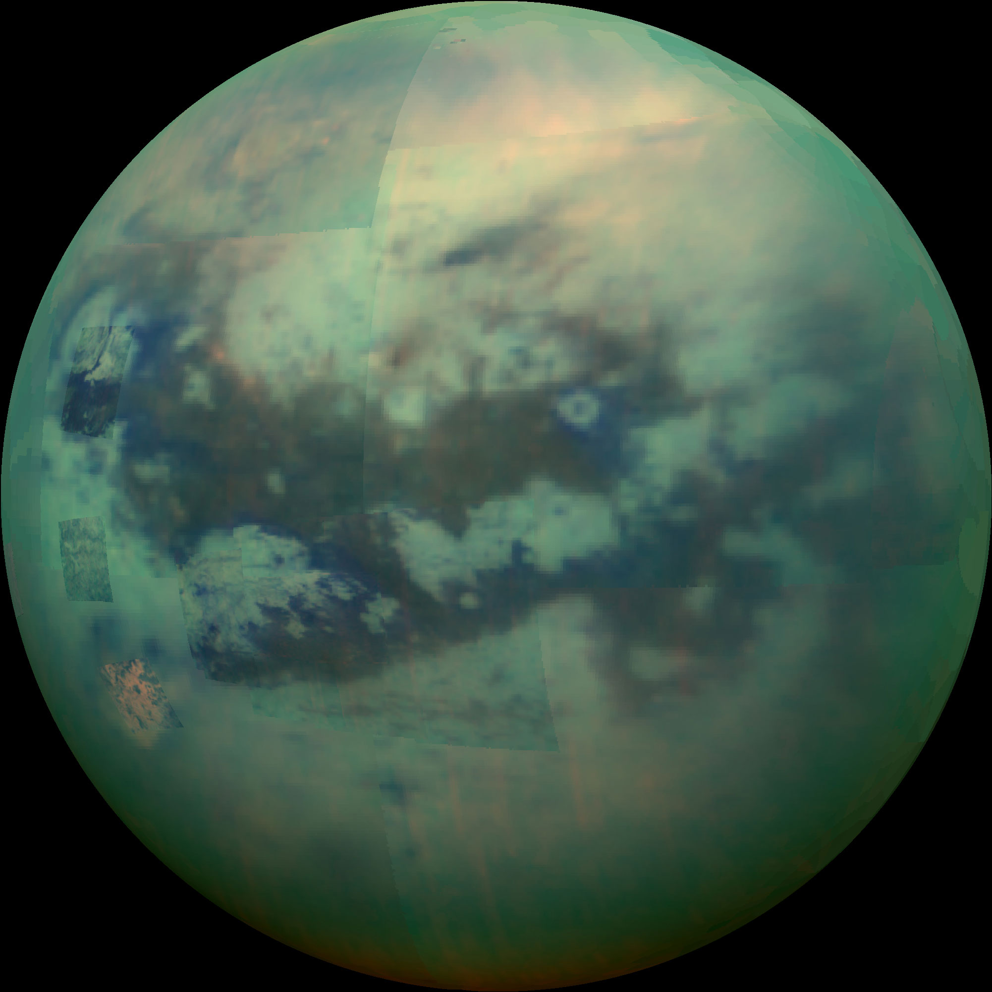 Titan-in-a-Glass Experiments Hint at Mineral Makeup of Saturn's Largest Moon