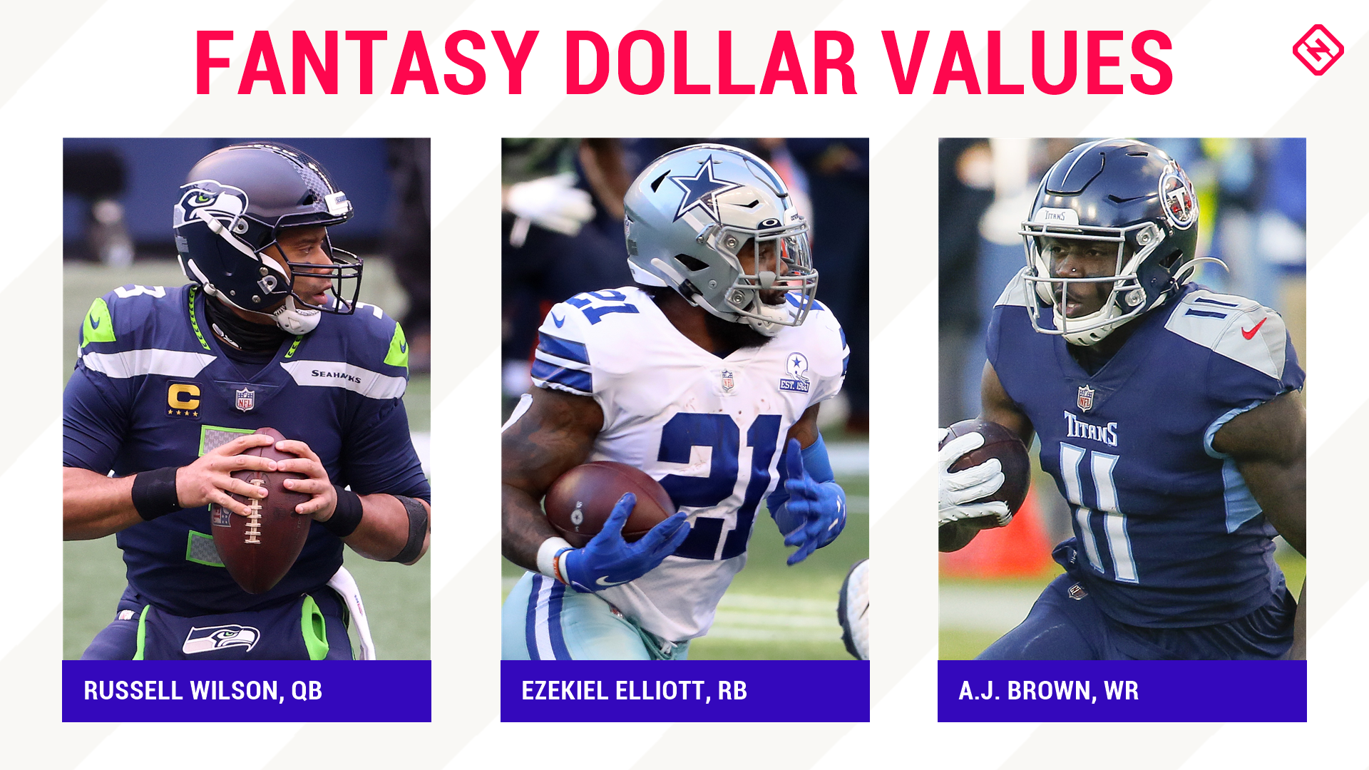 Updated 2021 Fantasy Football Auction Values Cheat Sheet: Dollar projections, overall rankings for standard & PPR leagues