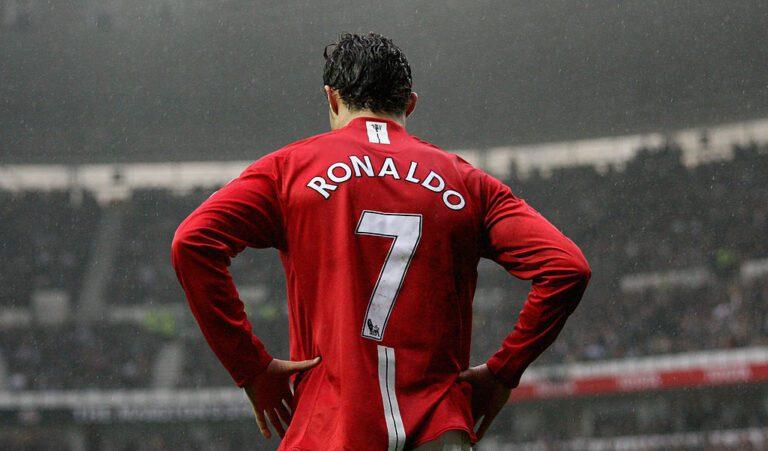 Ronaldo secures his vintage jersey number back at Man Utd