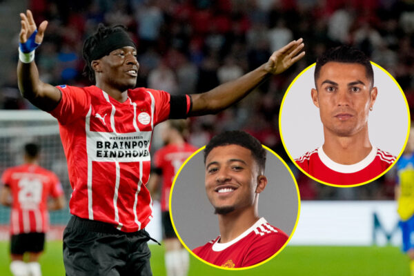 Noni Madueke has been inspired by Jadon Sancho and aspires to be like Cristiano Ronaldo and Lionel Messi but former Tottenham youth star rejected Manchester United move