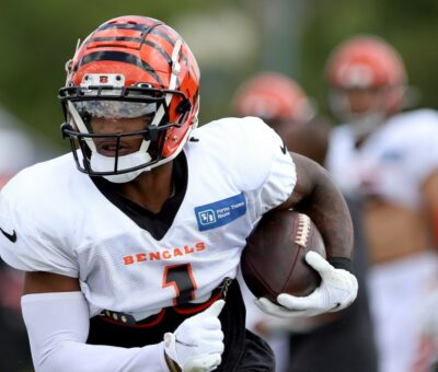 Ja'Marr Chase drops: Bengals rookie details transition to NFL balls