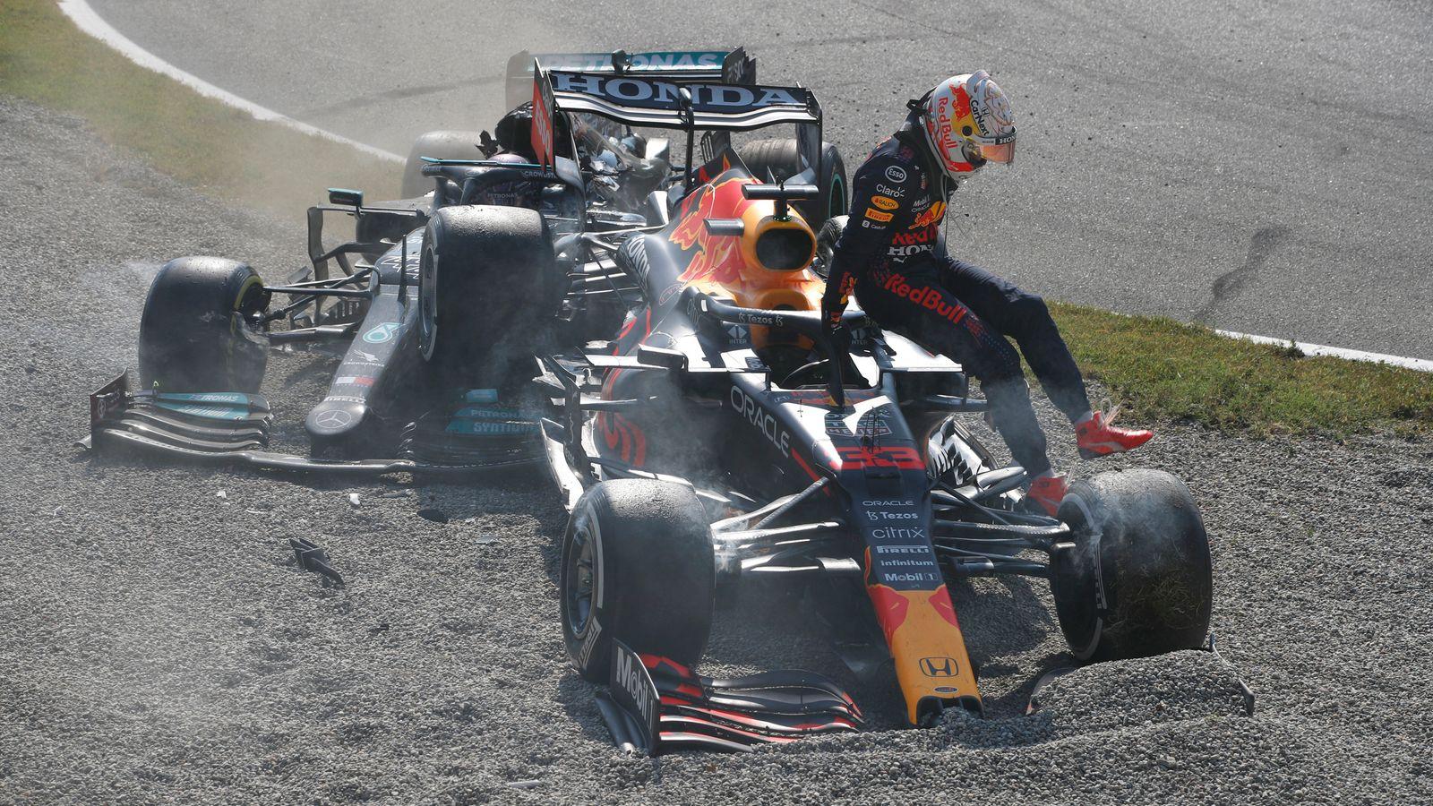 Verstappen handed Russia grid penalty after Hamilton crash