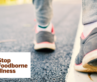 STOP3000: Raising awareness of foodborne illness with every step