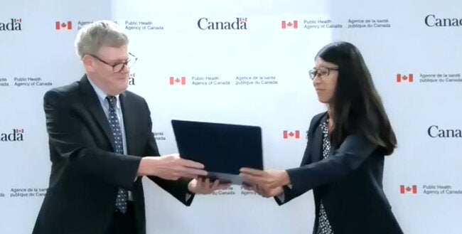 Canadian medical humanitarian wins PAHO Award for Health Services Management and Leadership