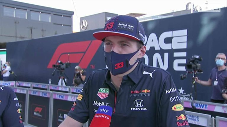 Max Verstappen believes Lewis Hamilton was to blame for their collision at the Italian GP.