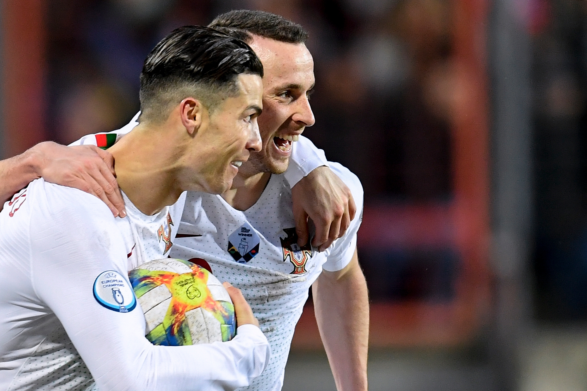 Jota has even scored as many headed goals as his compatriot, Cristiano Ronaldo