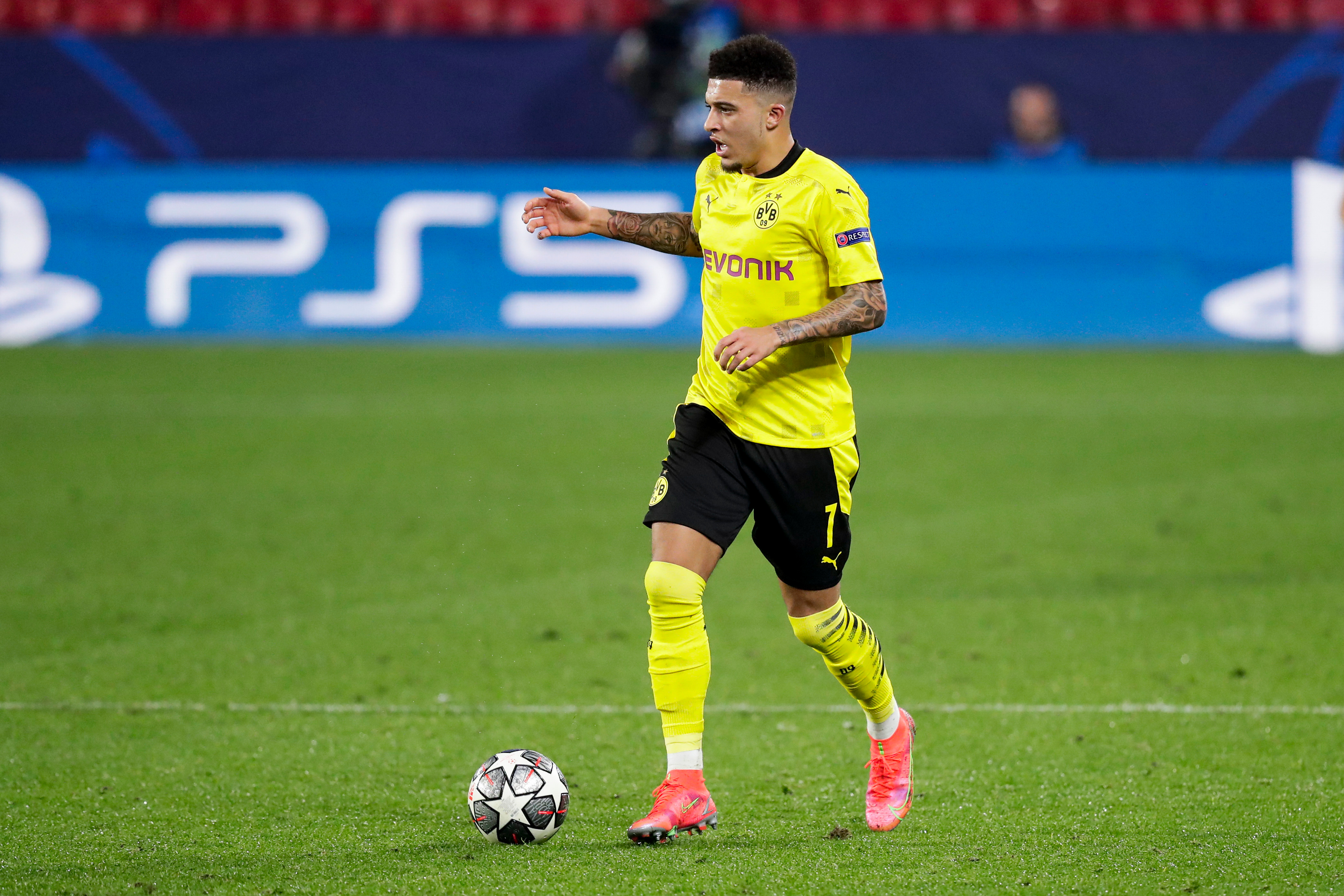 Sancho made it big in Germany after leaving Manchester City in 2017