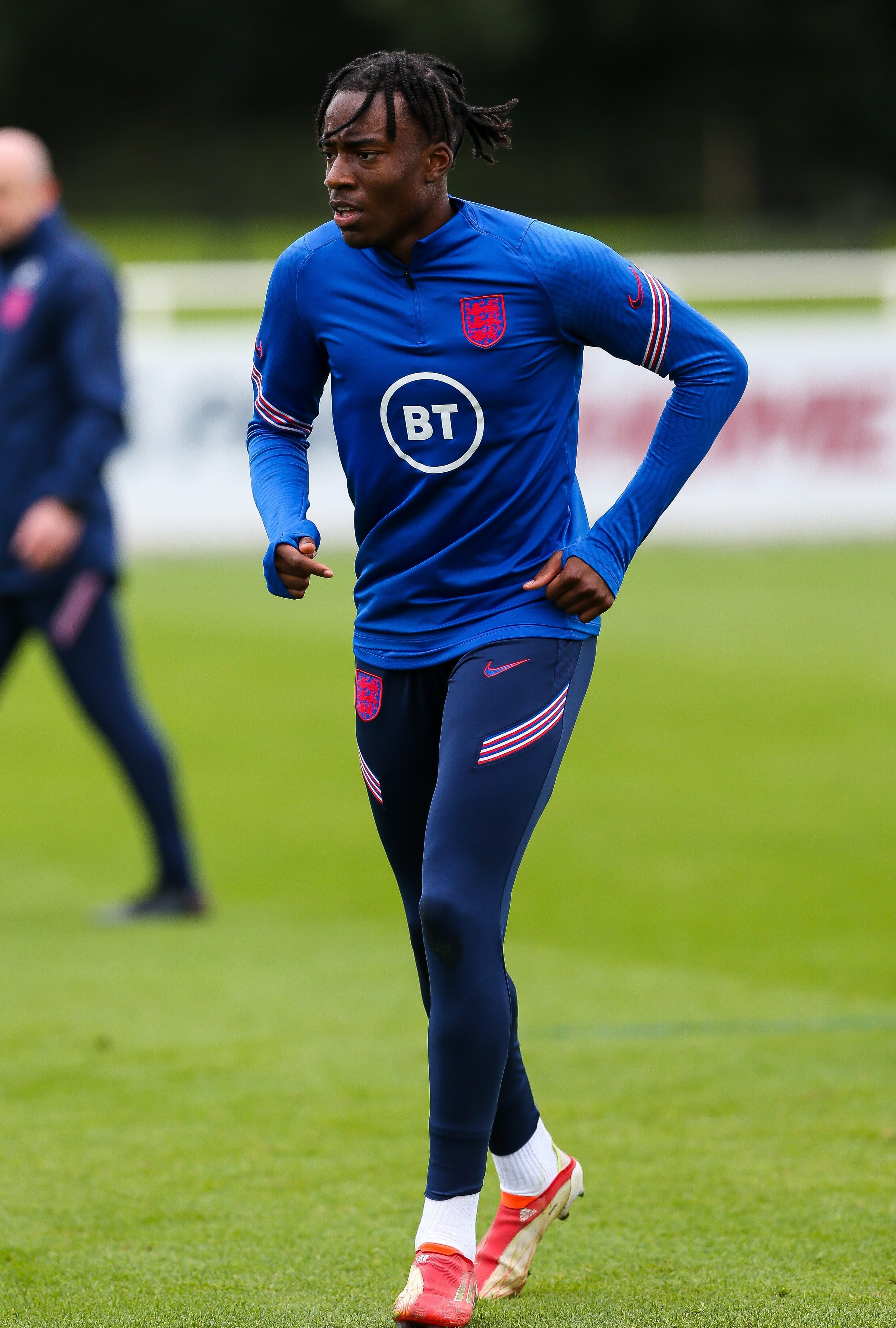 Madueke is hoping to make the jump from under-21s to the England senior side