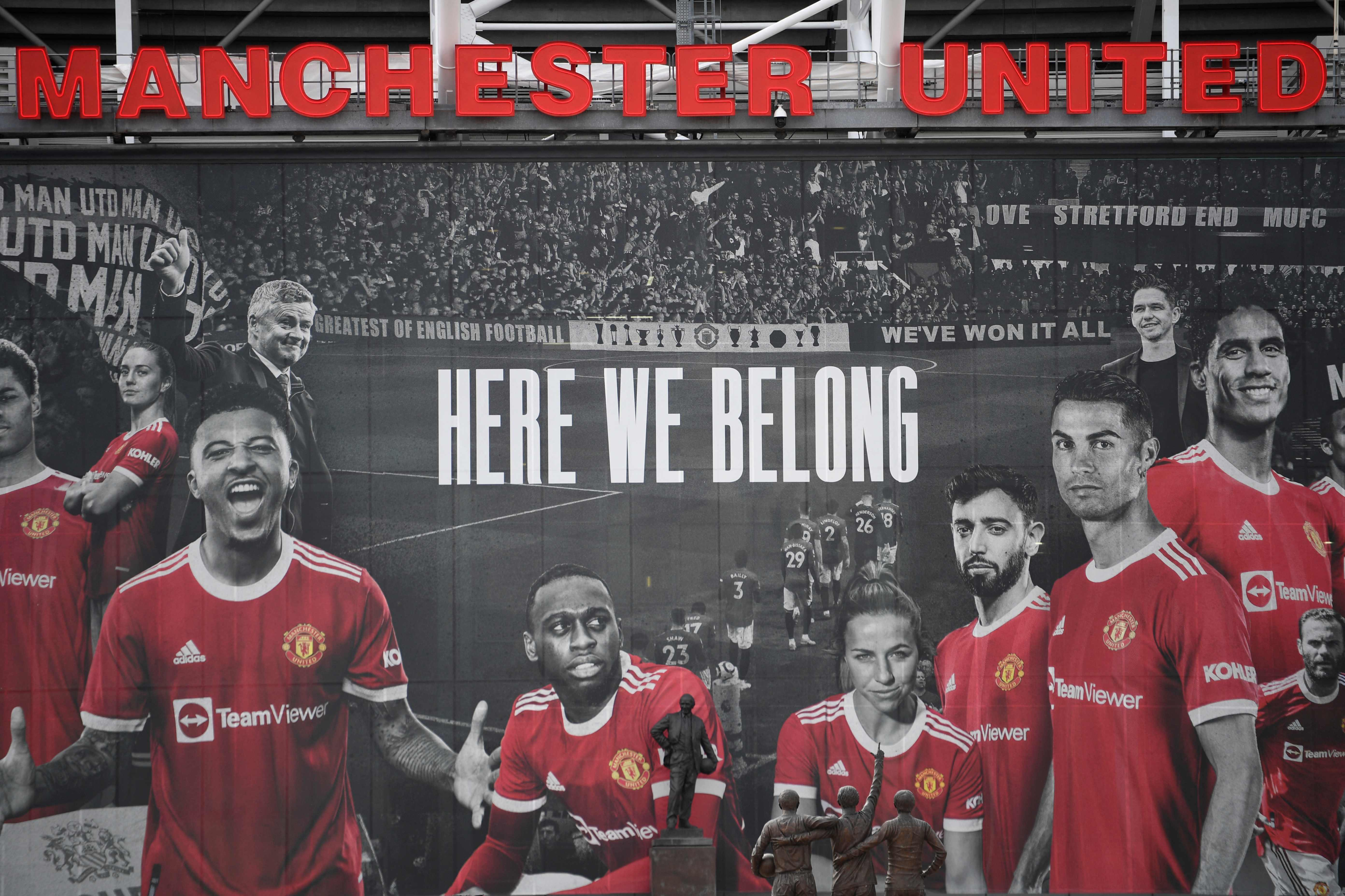 Old Trafford is set to be packed to see the legend's return