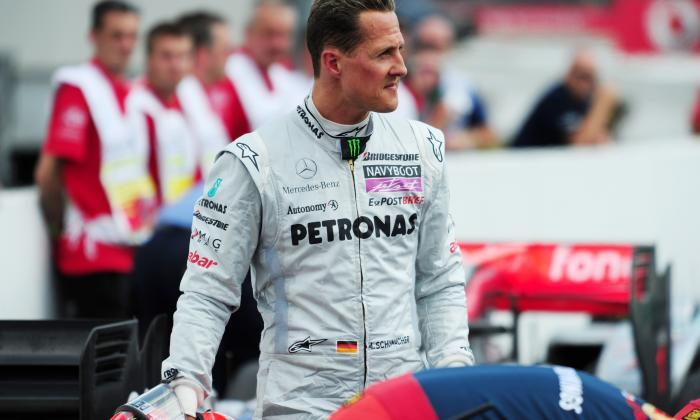 The F1 legend has 7 World Championship to his name – the same amount as Lewis Hamilton