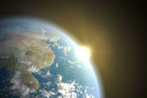 Paradox of the Young Weak Sun: Extreme CO2 Greenhouse Effect Heated Up the Young Earth