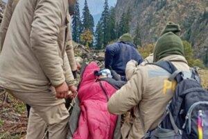 3 hikers die after heavy snowfall lashes Himachal's Kinnaur; ITBP rescues 10