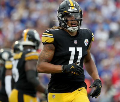 Steelers' Chase Claypool Downgraded to Out vs. Packers with Hamstring Injury