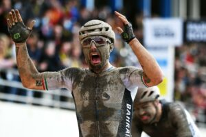 Emotional Colbrelli braves mud and rain to claim stunning Paris-Roubaix 2021 victory