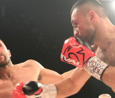 Avanesyan explodes to dispatch Taylor by TKO