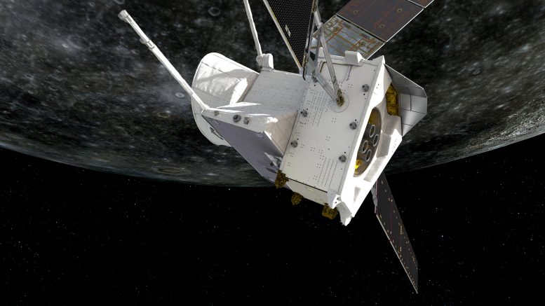BepiColombo First Mercury Flyby 1